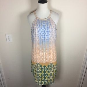 Spring Ruffle Cocktail Dress